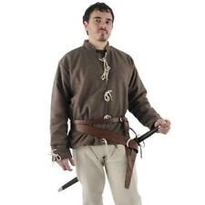 13th Century Right Handed Leather Broadsword Belt. For Re-enactment & Costume