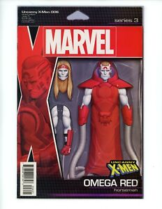UNCANNY X-MEN 6, 2015 VF- Marvel Comics ACTION FIGURE VARIANT Christopher