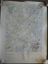 1947 - ANTIQUE Geographic Map of PERTH AMBOY, New Jersey - Army Map Service