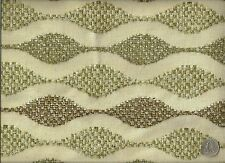 Woven Modern Contemporary wavy Stripes Cotton Blend Upholstery Fabric