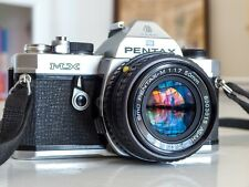 Pentax MX with Pentax Asahi SMC 50mm 1:1.7 lens in excellent condition