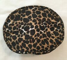 Make-up / Cosmetic Travel Bag Zippered Leopard Pattern - Lined