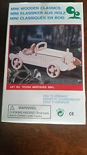 Classic Wooden Mercedes kit car in original box  new never been open
