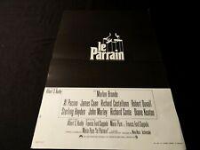 LE PARRAIN the godfather ! marlon brando , f coppola affiche cinema