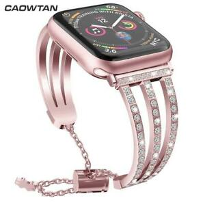 Diamond stainless steel bling Band for Apple Watch