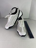 Footjoy 98951 Superlite Spikeless White/Black Mesh Golf Shoes Women's Size 8 M