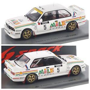 1/43 Spark BMW M3 E30 N°5 Rallye 1000 Lakes Finland 1988 Ari Vatanen B.Berglund