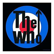 The Who Target steel fridge magnet  75mm x 75mm (ro)