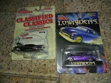 2 LOT Racing Champions Classified Classics '57 BUICK & LOWRIDERS BEL-AIR PURPLE