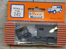 Roco / Herpa Minitanks (NEW) Modern West German Unimog S Troop Truck Lot #606