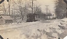 B. 8. P. T. CO. TROLLEY CAR ~ SNOW SCENE ~ C. - 1920