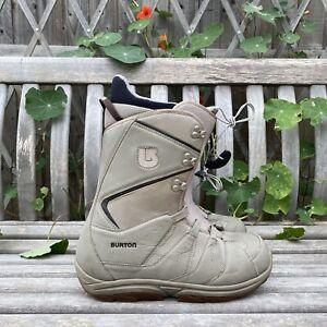 Mens BURTON MOTO Snowboarding Boots MATRIX 2 Inner -Grey -US11/UK10/44 *No Laces