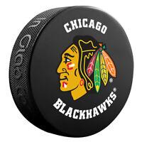 Chicago Blackhawks NHL Team Logo Basic Souvenir Hockey Puck