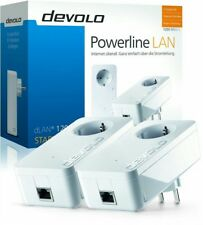 DEVOLO 9376 DLAN 1200+ STARTER KIT POWERLINE SET 2 STÜCK & STECKDOSE 1200Mbps