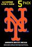 NY Mets Vinyl Decal Sticker Gift | NEW YORK Souvenir for Men Women Youth