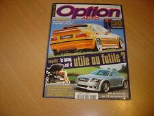 Option auto N°108 BMW série 3 Hamann 3.4.Audi TT ABT