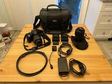 Nikon D5100 16.2 MP Digital SLR DSLR Camera - 18-55, 55-200 and many extras!