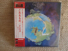 YES FRAGILE MINI LP CD JAPANESE JAPAN JPN MINT AMCY-2731