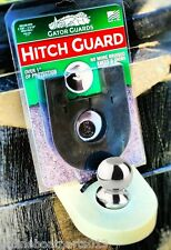 BOAT TRAILER HITCH KNEE/SHIN GUARD, SLIDES OVER HITCH BALL, GLOWING, GATOR-GUARD