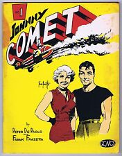 Johnny Comet Magazine #1 Frank Frazetta Good Water Damage but Complete 1967