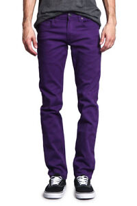 Victorious Men's Skinny Fit Jeans Stretch Colored Pants   DL937 - FREE SHIP