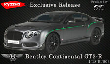 BENTLEY CONTINENTAL GT3-R SATIN GREY 1/18 MODEL BY GT SPIRIT FOR KYOSHO KJ003