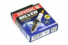4 x BRISK SILVER LPG CNG DR15YS-9 Zündkerzen Autogas Gaskerze Gasfahrzeug