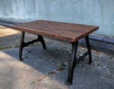 Handmade Solid Wood Industrial Tables