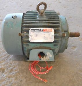RELIANCE A.C MOTOR, P18G311M, FRAME 182T, HP 3, PHASE 3, 60 HZ, RPM 1730