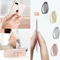 Aluminum Ultrathin Magnetic Phone Ring Car Mount Holder Finger Ring Stand Holder