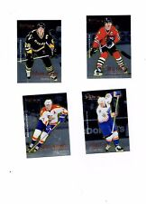 NHL  1995-1996  SELECT CERTIFIED  Hockey Set  + 7 CHECK LIST