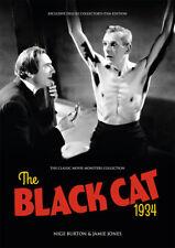 The Black Cat 1934 Bela Lugosi Boris Karloff horror movie magazine