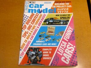 VINTAGE CAR MODEL MAGAZINE APRIL 1968
