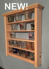 Display Shelves For Collectibles >> Glass Display Shelf In Collectible Shot Glasses For Sale Ebay