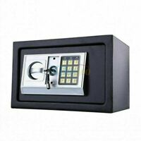 Portable Safe Box Security Cash Money Key Lock Digital Fireproof Jewelry Storage