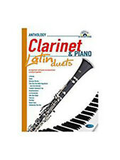 Latin Duets for Clarinet & Piano. Sheet Music, CD for Clarinet, PianoVery Good