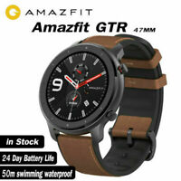 "Xiaomi AMAZFIT GTR 47mm Smart Watches 1.39"" AMOLED Screen GPS Heart Rate Monitor"