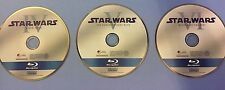STAR WARS BLU-RAY ORIGINAL TRILOGY SET EPISODES 4,5,6 IV V VI DISCS ONLY READ
