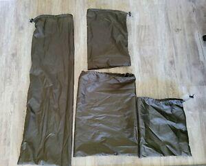UL HIKER Ultra Lite- Set 4 Dark Olive Silpoly Stuff Sacks