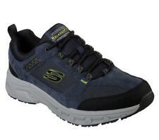 Skechers Herren Extra Weite Passform Eiche Canyon Komfort Wandern Sneakers Navy