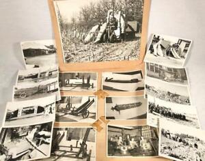 LOT VINTAGE 1940S PHOTOGRAPHS ROSENTHAL FARM EQUIPMENT ANTIQUE & MODERN