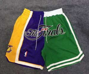 Vintage Men Final NBA Shorts Stitched Size X-XXL