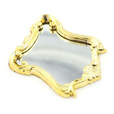 1:12 DOLLHOUSE Mini Furniture European Frame Mirror Model Vintage  At