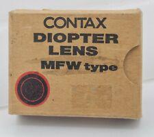 NOS Contax 645 SLR Camera -1.5 WLF Hood Diopter Correction Finder Lens