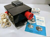 Vintage Sawyers VIEW-MASTER Bakelite PROJECTOR No 2421 MINT ~TESTED w/extra Bulb