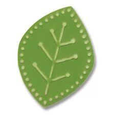 Leaf Sizzix Sizzlits Embosslits Embossing Die by Basic Grey 657236 Cuts & Emboss