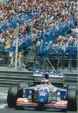 Gianni Morbidelli Hand Signed 12x8 Photo Footwork F1 2.