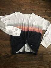 Hollister Tie Front Long Sleeve T-Shirt