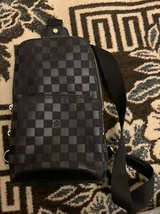 Louis Vuitton Avenue Sling Bag Damier Infini Leather