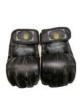 Mma Mixed Martial Arts Sparring Boxing Gloves large Bone Print